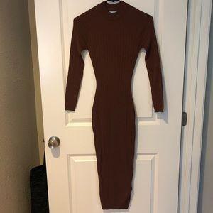 NWT Naked Wardrobe High Neck Dress